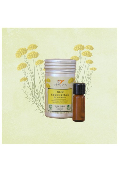 Olio Essenziale di Elicriso BIO (Helichrysum Italicum)