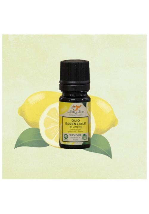 Olio Essenziale di Limone Sicilia Bio