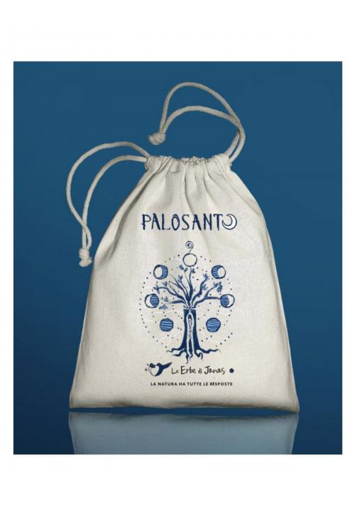 Sacchetto PaloSanto in Cotone Ecologico (vuoto)
